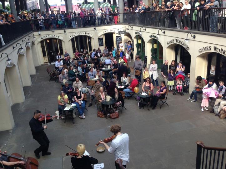 Covent Garden'da Canlı Klasik Müzik