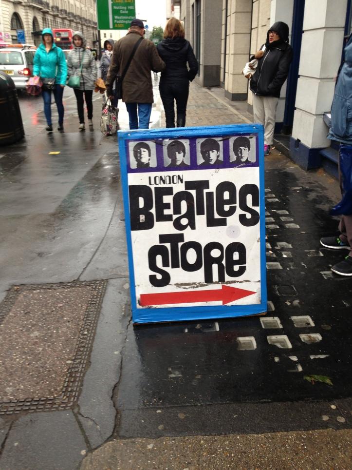 Baker Street'te bir dükkan