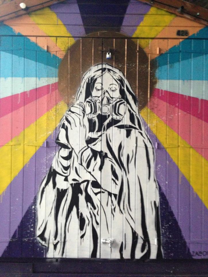 Camden Town'da bir Grafiti