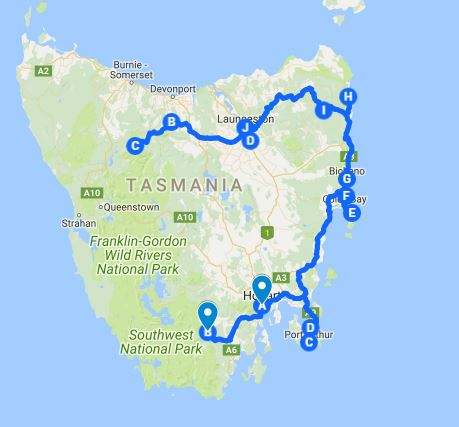 Tassie Route